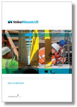 Cover 2013 In Review VolkerWessels UK
