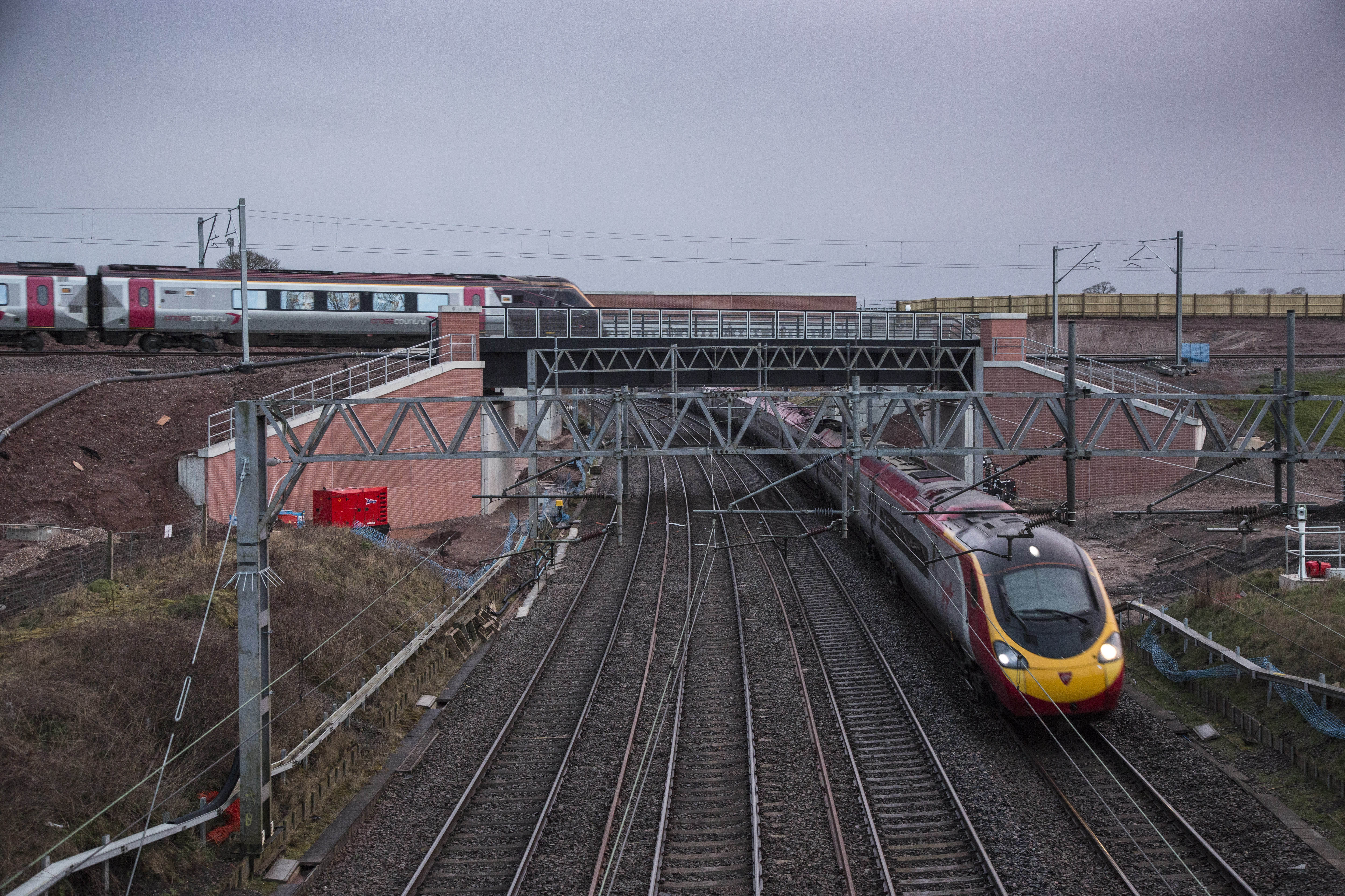 Staffordshire Alliance Complete A New Section Of Railway At Norton Bridge