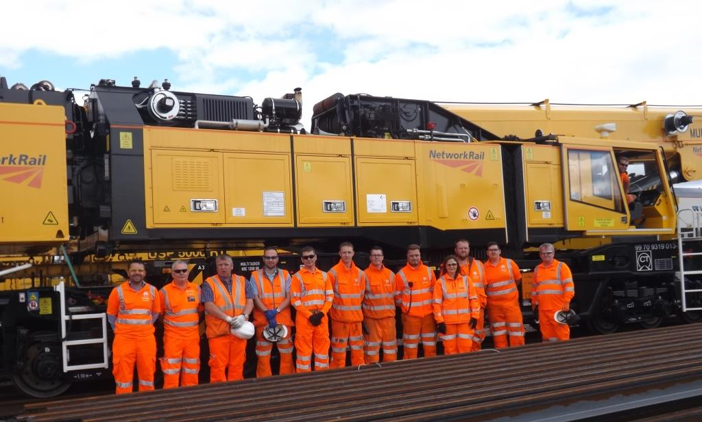 Volkerrail To Operate And Maintain Network Rails S New