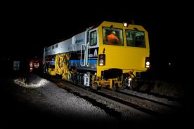 B45 Hull tamping night work 2009