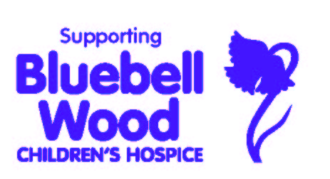 Blueblll Wood Childrens Hospice supporting logo
