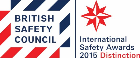British Safety Council International Safety Distinction award