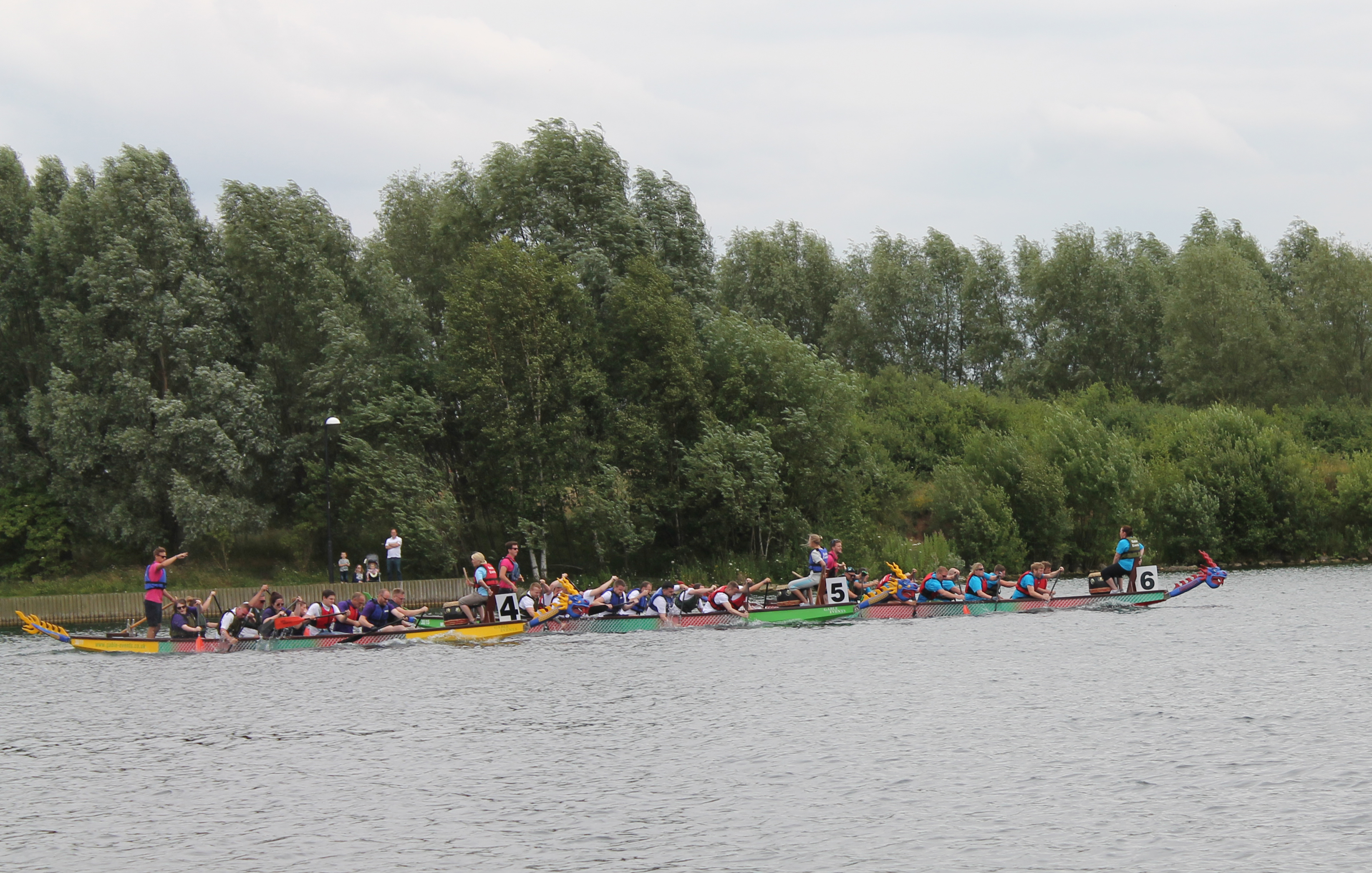 dragon boat race challenge
